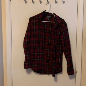 Forever 21 Men's Plaid Flannel Button Down